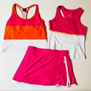 🎾🎾 Nike 3 piece matching tennis outfit  🎾🎾